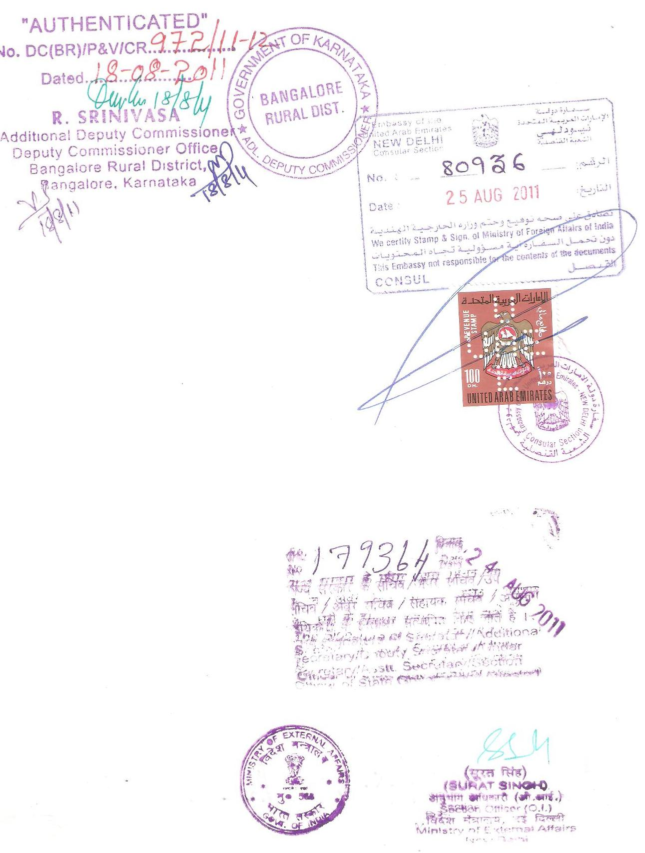 Certificate attestation for oman embassy consulate commercial certificate sample yadclub Image collections